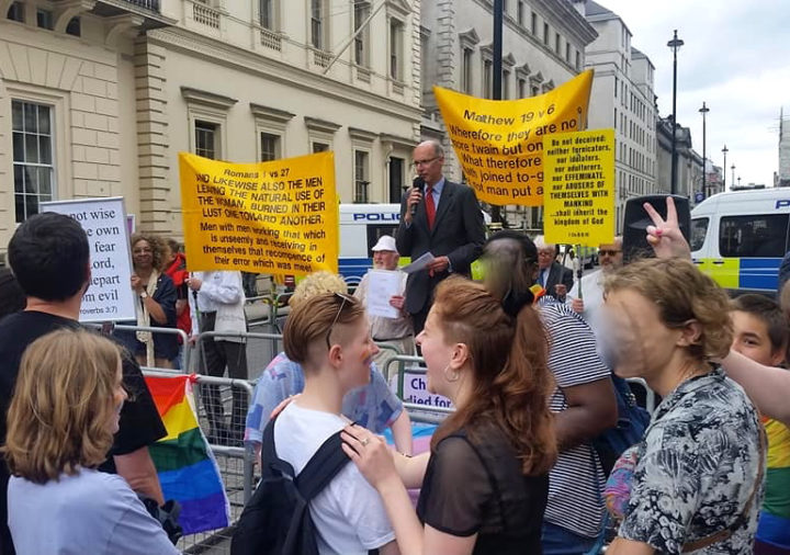 Pride London : Stern call to repentance as capital is given