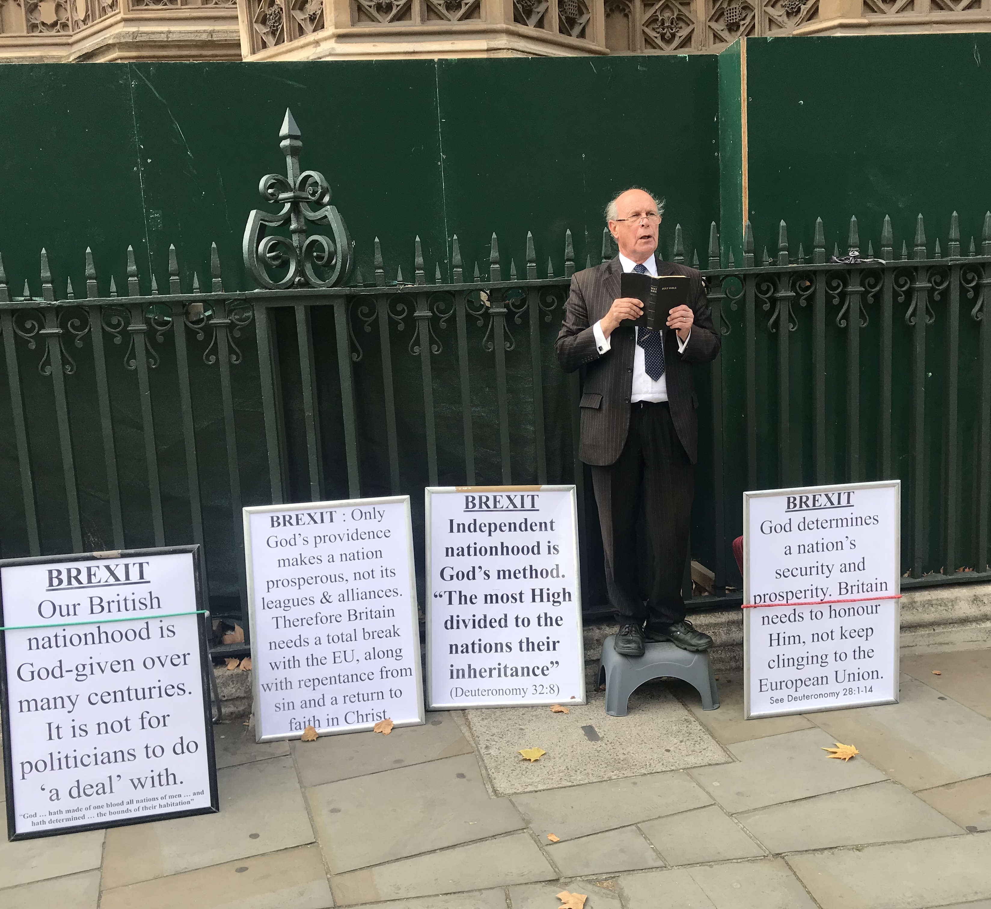 House of Commons witness : National repentance, not EU membership, is the way to secure a prosperous future